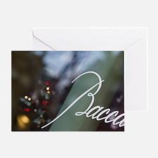 Place de la Madeleine: Window Detail Greeting Card