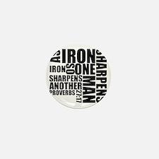 Iron Sharpens Iron Mini Button