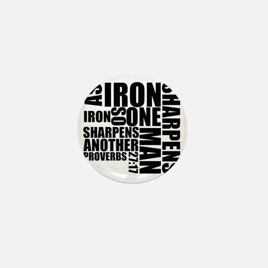 Iron Sharpens Iron Mini Button