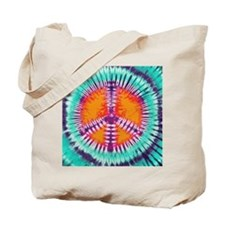 Pillow Blue Peace Tote Bag