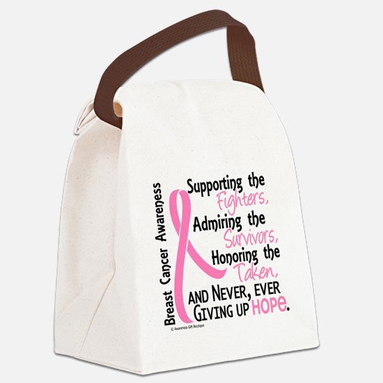 - ©Supporting Admiring Honoring B Canvas Lunch Bag