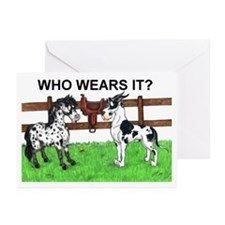 C H Who Wears It? Greeting Cards (Pk of 10)