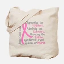 - ©Supporting Admiring Honoring BC Tote Bag