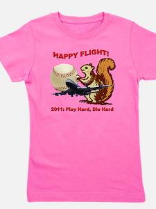 Happyflight2 copy Girl's Tee
