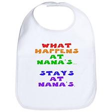 What happens at Nana's... Bib