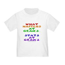 What happens at Gram's... T