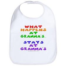 What happens at Gramma's... Bib