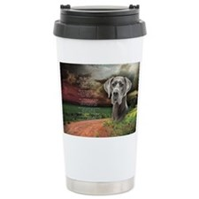 godmadedogs(oval) Travel Mug
