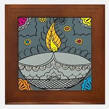 Diwali fun laughter Framed Tile