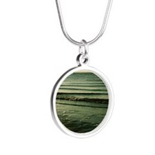 Sail Away Silver Round Necklace