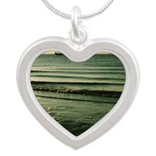Sail Away Silver Heart Necklace