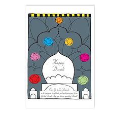 sparkling diwali Postcards (Package of 8)