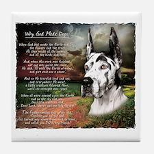 godmadedogs3 Tile Coaster