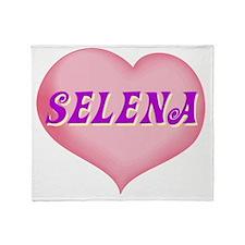 SELENA01 Throw Blanket