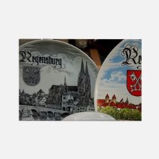 Regensburg. Typical German souven Rectangle Magnet