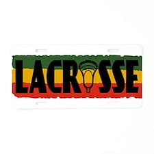 Lacrosse Regados Aluminum License Plate