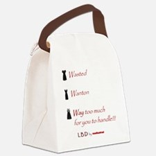 LBD Way too much 6000 Canvas Lunch Bag