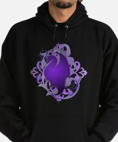 Urban Fantasy Purple Dragon Hoodie (dark)