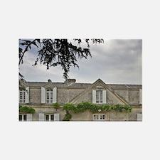 Vieux Chateau Certan and its cour Rectangle Magnet
