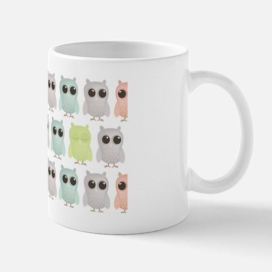 owlets_pattern_miniwallet Mug