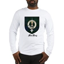 MacKay Clan Crest Tartan Long Sleeve T-Shirt
