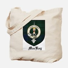 MacKay Clan Crest Tartan Tote Bag