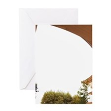 Ricardo Bofill architecture at Antig Greeting Card