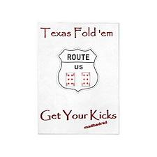 TFE Get Your Kicks 6000 5'x7'Area Rug