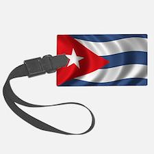 cuba_flag1 Luggage Tag