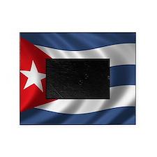 cuba_flag1 Picture Frame
