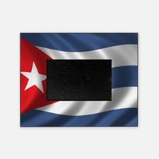 cuba_flag1 Picture Frame