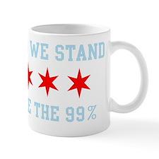 Occupy Chicago Flag We are the 99% Mug