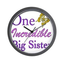 IncredibleBigSister Wall Clock