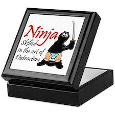 ninja_distraction Keepsake Box
