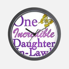 IncredibleDaughterInLaw Wall Clock