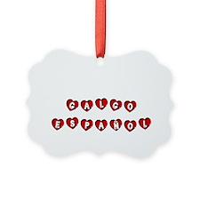 GALGO ESPAÑOL Ornament