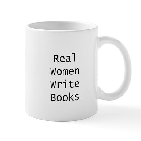 Real Women Write Books - mug