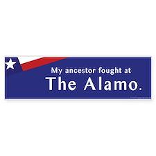 The Alamo Bumper Bumper Sticker