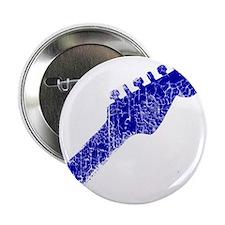 "guitar headstock blue2 2.25"" Button"