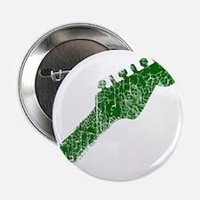 "guitar headstock green2 2.25"" Button"