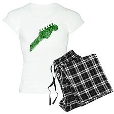 guitar headstock green2 Pajamas