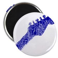 guitar headstock blue1 Magnet