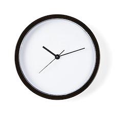 guitar headstockwht2 Wall Clock