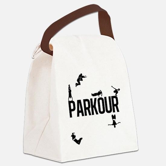 parkour4 Canvas Lunch Bag