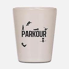 parkour4 Shot Glass