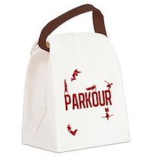 parkour4-3 Canvas Lunch Bag