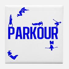 parkour4-4 Tile Coaster