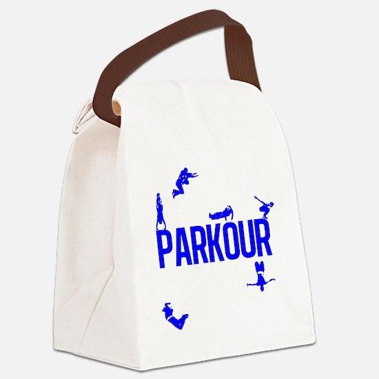 parkour4-4 Canvas Lunch Bag