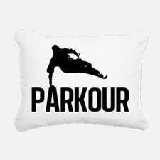 parkour1 Rectangular Canvas Pillow