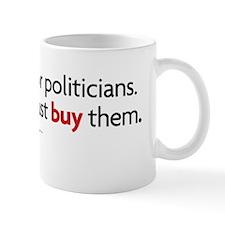 people vote-corporations buy Mug